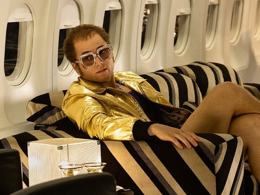 Taron Egerton is Elton John: first look at
