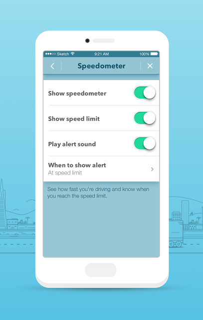 Waze Speed Limits On Settings