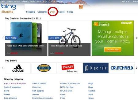 Bing añade cupones a los resultados de las búsquedas de ofertas
