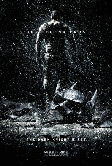'El caballero oscuro: La leyenda renace' de Christopher Nolan, cartel