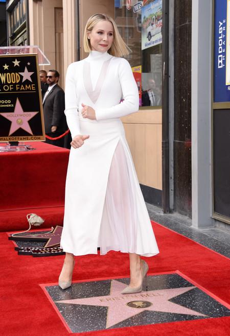 vestido blanco lowcost kristen bell