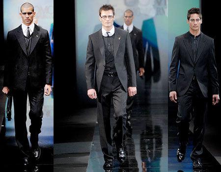 Emporio Armani en la Semana de la Moda de Milán Masculina