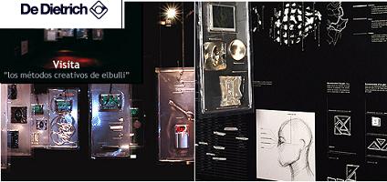Los métodos creativos de El Bulli, exposición en De Dietrich Gallery, Bilbao
