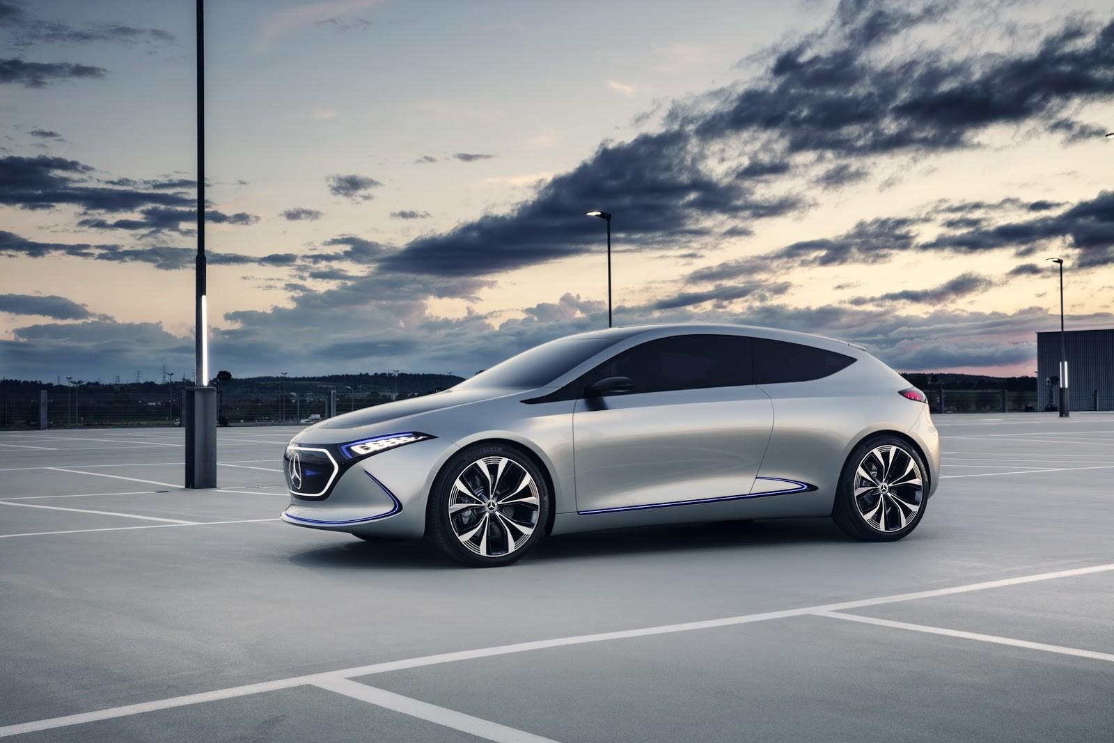 Foto de Mercedes-Benz EQ A Concept (13/15)