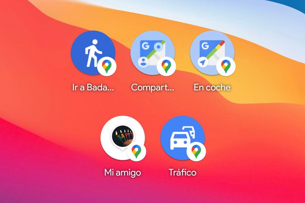 Todos los widgets de Google™ Maps en Android™ y para qué sirve cada uno