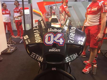 Ducati Gp17 Carenado