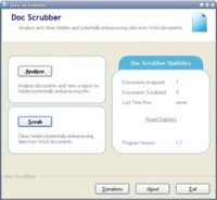 Doc Scrubber, elimina metadatos de Word