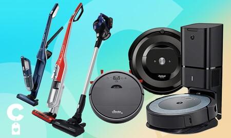 Chollos de Amazon en aspiradoras verticales y robots de limpieza Roomba, Bosch y Vileda