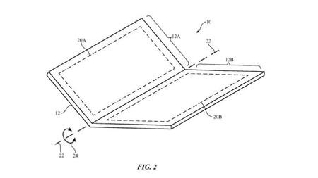 Apple registra una patente en la que vemos un dispositivo plegable ¿ está cerca el iPhone flexible?