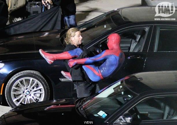 Foto de 'Spider-Man' de Marc Webb, nuevas fotos del rodaje (7/17)