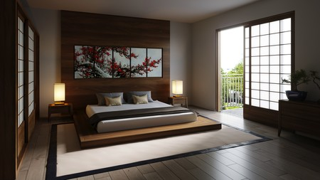 Japanese Zen Bedroom