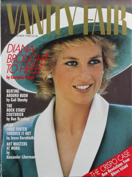 Lady Di Vanity Fair 1988