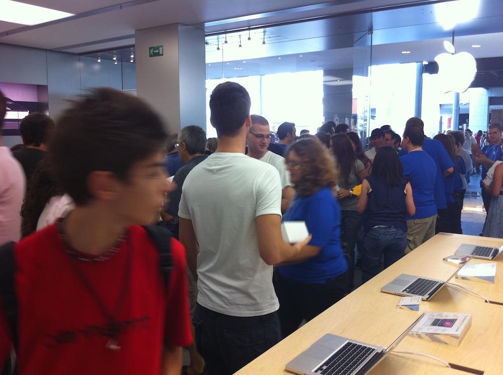 Foto de Inauguración Apple Store La Maquinista (92/93)