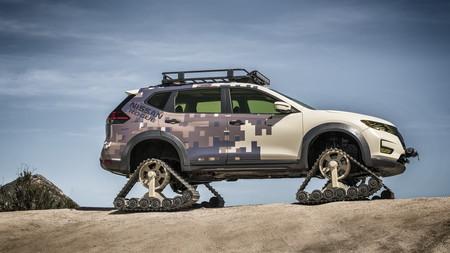Rogue Trail Warrior Project, o la última locura de Nissan sobre orugas