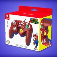 Control para Nintendo Switch de Mario Bros. en oferta: función turbo y una cruceta más grande por 399 pesos en Amazon México