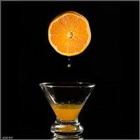 La naranja, mejor entera que exprimida