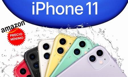 Con el lanzamiento de los nuevos modelos, el iPhone 11 de 64 GB se queda más barato que nunca en Amazon. Ahora nos lo dejan en 639 euros