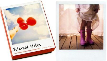 Notas estilo Polaroid
