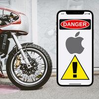 ¡Ojo, moteros! Apple advierte que las vibraciones de una moto de alta cilindrada pueden dañar la cámara de los iPhone