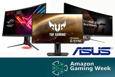 Gaming Week de Amazon: monitores ASUS para jugar a precios rebajados