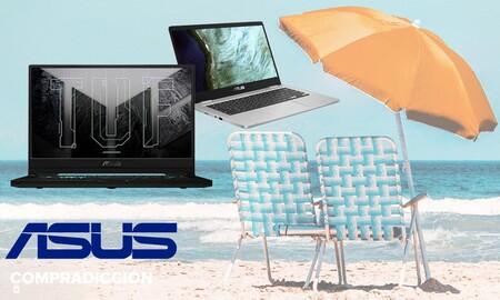 5 Chromebook y portátiles gaming ASUS rebajados en Amazon con los que ahorrar este verano renovando equipo informático