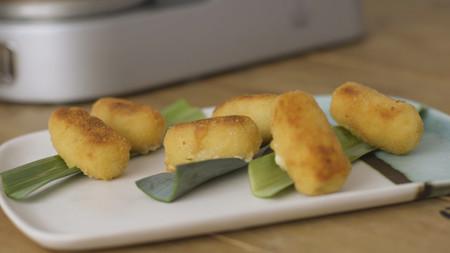 Cómo preparar croquetas de Idiazábal con Cooking Chef: receta en vídeo