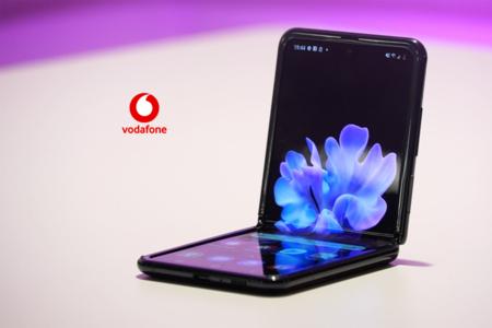 Precios Samsung Galaxy Z Flip con tarifas Vodafone