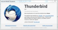 Disponible Thunderbird 12 con escasas novedades