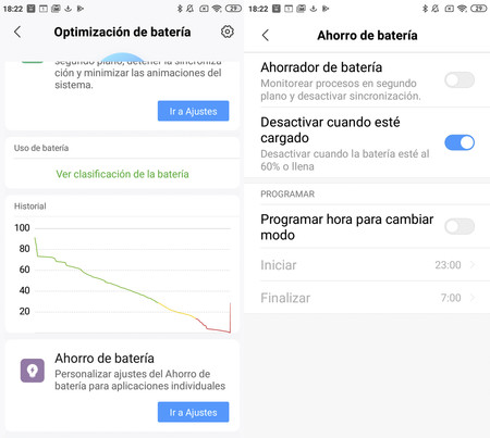 Optimizacion Bateria Miui