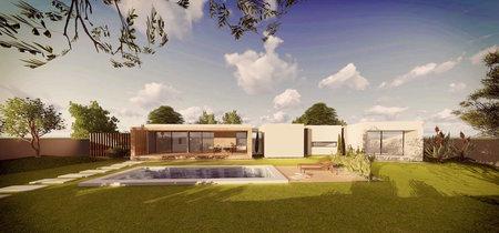 La casa que crece, una vivienda unifamiliar que se va adaptando a la familia (y está en Murcia)