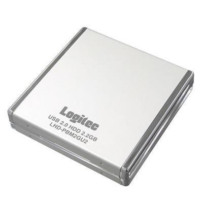 Logitec LHD-PBM2GU2, minidisco duro de 2.2 GB