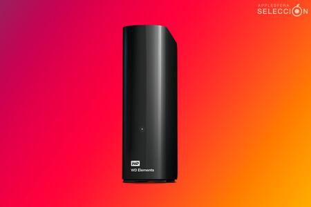Pon a salvo toda tu vida digital con el disco duro WD Elements Desktop de 12 TB, rebajado a menos de 200 euros en Amazon