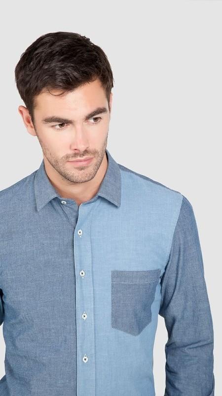 Camisa de patchwork