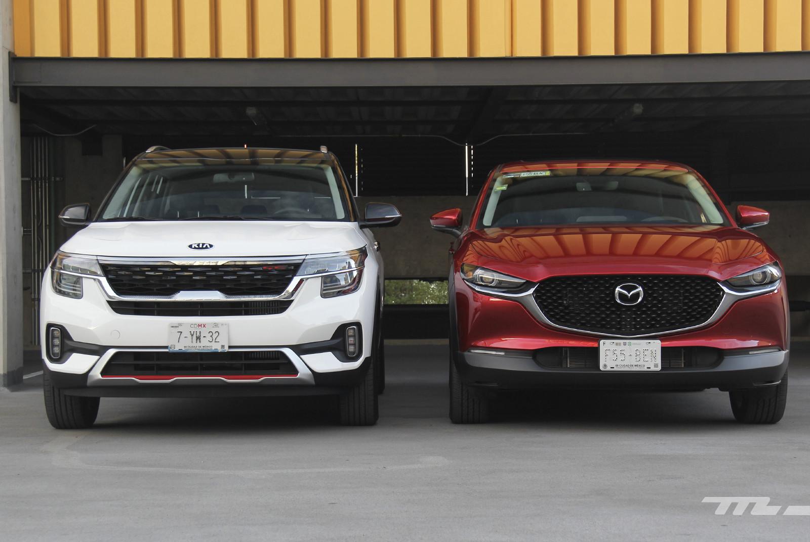 Foto de KIA Seltos vs. Mazda CX-30 (comparativa) (3/32)