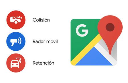 Cómo avisar de una incidencia de tráfico con Google Maps para Android