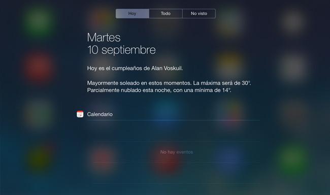 iOS Tareas