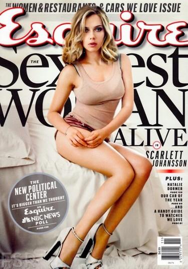 Scarlett Johansson en Esquire es la mujer mas sexy del mundo: ¿alguien se queja?