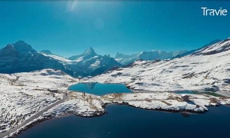 """Viaje a """"la cumbre de Europa"""" en los Alpes suizos. Vídeos inspiradores"""
