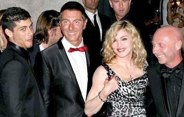 Madonna será la nueva imagen de Dolce & Gabbana