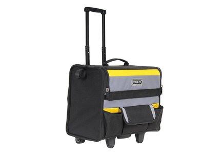 Por 32,90 euros tenemos la  bolsa rígida con ruedas Stanley 1-97-515 en Amazon. Soporta hasta 20 kilos de herramientas
