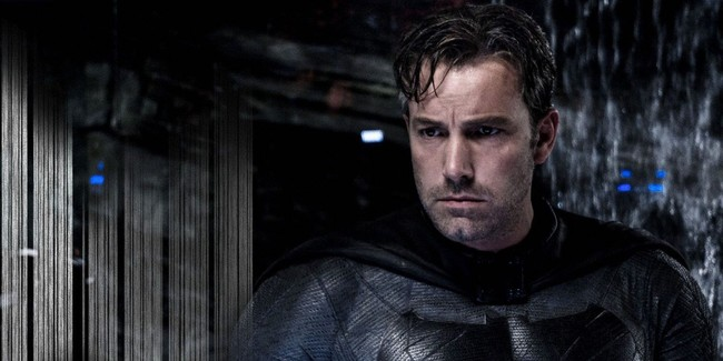 Batman Affleck Sin Capucha