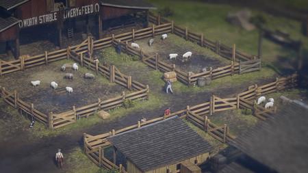Red Dead Redemption 2 pasado por el filtro Tilt Shift convierte al juego de Rockstar en algo cercano a Age of Empires