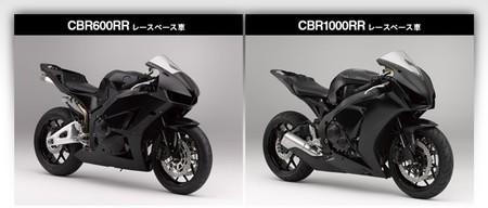Honda CBR600RR y 1000RR Race Base. Qué suerte tienen los japoneses
