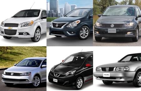 Los 20 autos más vendidos en México en el año 2015