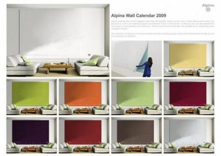 Alpina Wall Calendar