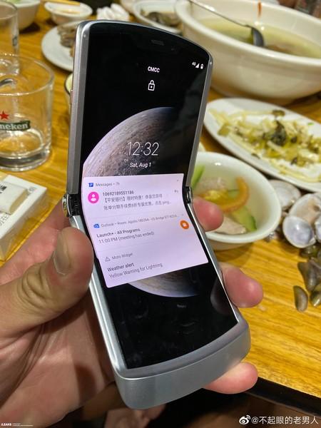 Motorola Razr 2020 Filtracion Abierto