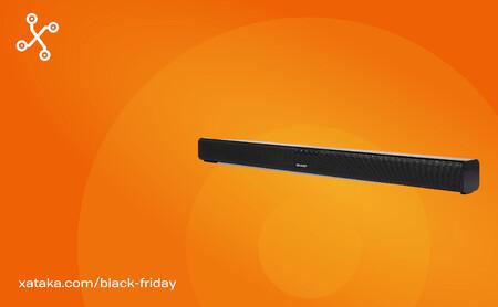 Mejora el sonido de tu TV con esta barra de sonido Sharp HT-SB110 que arrasa en ventas en Amazon, ahora por menos de 40 euros