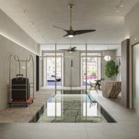 El Hotel Santo Domingo destacará en el casco histórico de Lugo construido íntegramente en madera