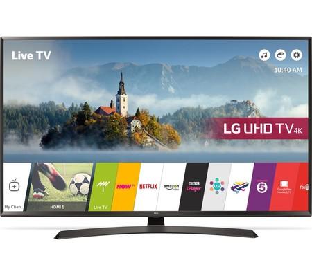 Smart TV de 49 pulgadas LG, con resolución 4K, por sólo 459 euros y envío gratis