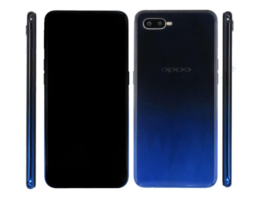 Oppo F9 Design